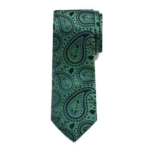 Star Wars Yoda Paisley Big Boys' Silk Tie (Star Wars Tie)