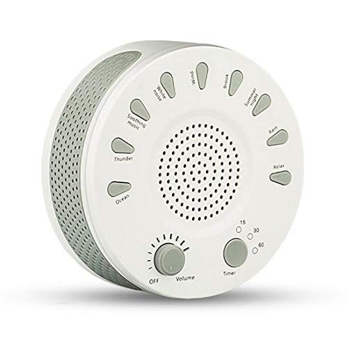 Denshine White Noise Sound Machine Soothers Sleep Helper wit