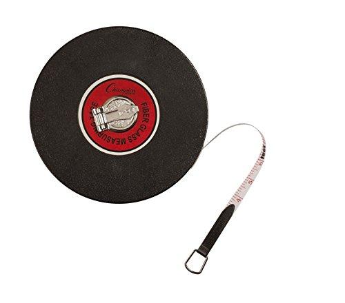 Champion Sports Closed Reel Measuring Tape, 165'