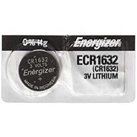 Energizer 04096 - 3 Volt Lithium Button Cell Watch Battery (ECR1632BP (CR1632))