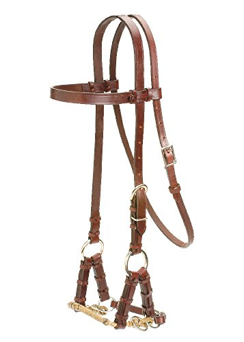 Colorado Saddlery The Braided Nose Side Pull Bridles