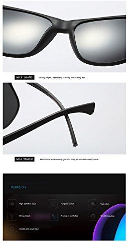 UV Aviator Polarizadas para De 400 Gafas Hombre C2 Mujer Sol Protección para C3 xwqTzfOCz