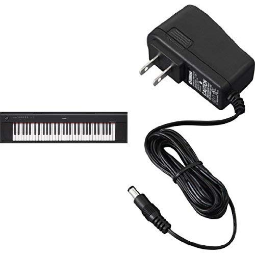 Buy Cheap Yamaha NP12 61-Key Lightweight Portable Keyboard, Black with AC Power Adaptor