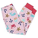 Gerber Baby Girls' 4-Piece Pajama Set, Whale, 24