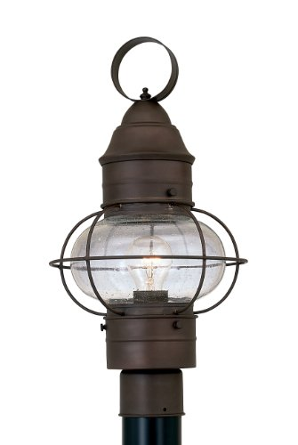 (Designers Fountain 1766-RT Nantucket Post Lanterns, Rustique)