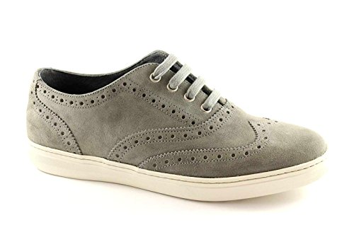 Frau Grigio Forata Roccia Scarpe Sportive Uomo 28c2 Sneaker Inglesina 8qr816