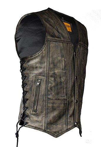 Best Leather Biker Vest - 6