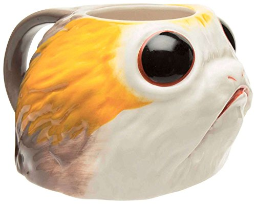 Zak Designs Star Wars Episode 8 Last Jedi Sculpted Coffee Mug - Porg