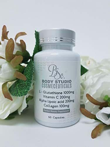 Natural Skin Brightening Glutathione Pills