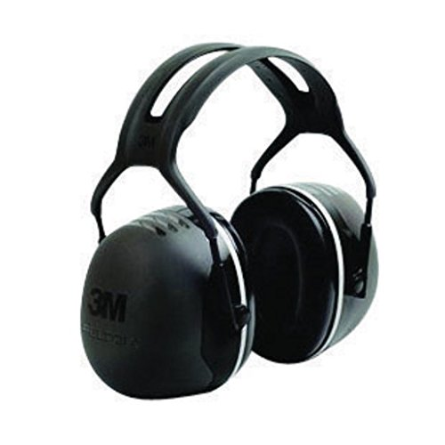 3M X5A Peltor Black Model X5A/37274(AAD) Over-The-Head Hearing Conservation Earmuffs, English, 15.34 fl. oz, Plastic, 1'' x 1'' x 1''