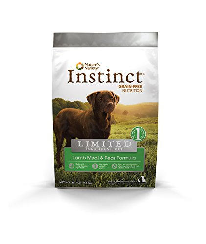 Cheap Instinct Limited Ingredient Diet Grain Free Lamb Meal & Peas Formula Natural Dry Dog Food by Nature's Variety, 25.3 lb. Bag
