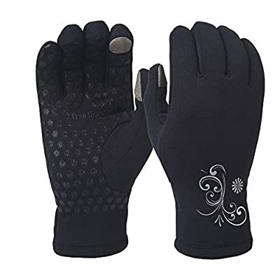 TrailHeads Women's Power Stretch Running Gloves