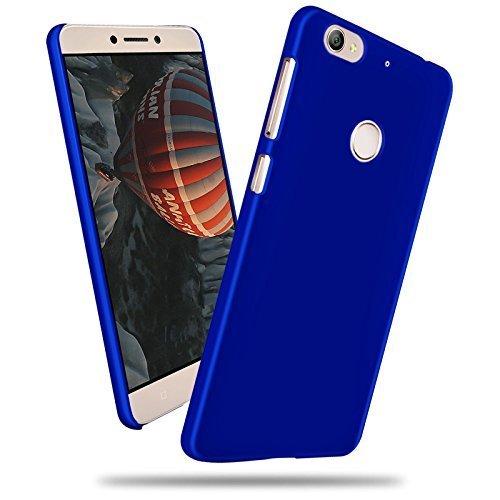 SDO™ Rubberised Matte Finish Slim Hard Case Back Cover for LeEco Le 1s Eco 5.5 inch  Blue