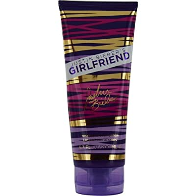 GIRLFRIEND BY JUSTIN BIEBER by Justin Bieber BODY LOTION 6.8 OZ for WOMEN ---(Package Of 3)