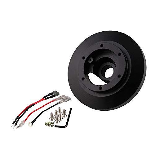 (Alician Aluminium Alloy Interior Racing Steering Wheel Short HUB/Adapter Kit for BMW E46/M3)