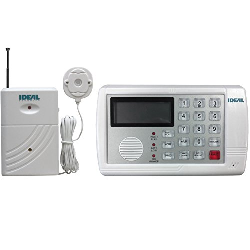 (Ideal Security Inc. SK662 SK6 Flood Alert Kit Wireless Water Detector and Hub - Built-in Alarms and Notifications by Phone)