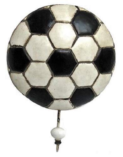 J&B Perchero con Forma de balón de fútbol, Estilo Vintage: Amazon ...