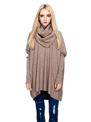 oversized cowl neck pullover - 3