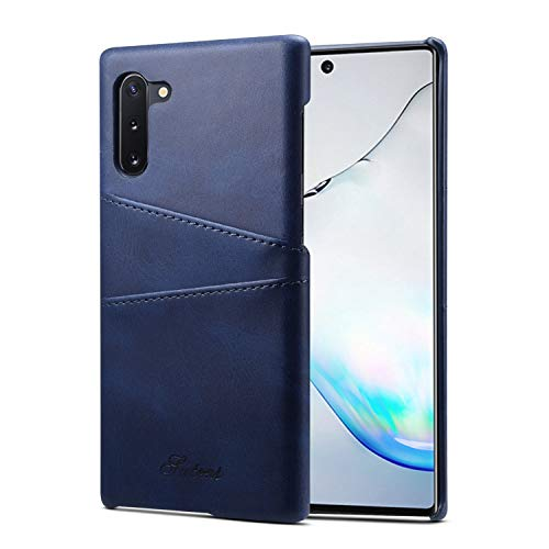 Galaxy Samsung Note10 Case PU Leather,Credit Card Pocket Slot Slim Protective Thin Durable Cover Shell Blue (Hello Kitty Neo Phone)