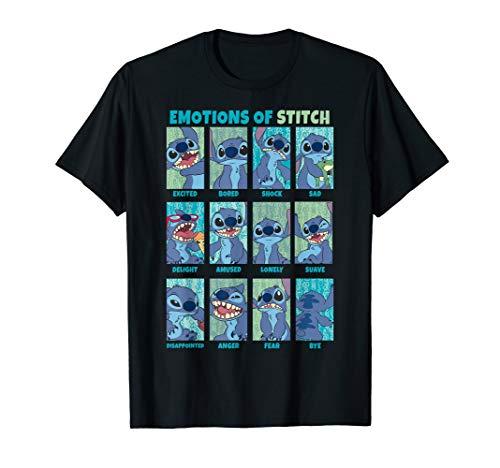 Disney Lilo & Stitch Emotions Of Stitch Panels T-Shirt from Disney