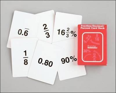 Everyday Mathematics, Grades 4-6, Fraction Decimal Cards (EVERYDAY MATH GAMES KIT)