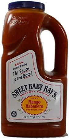 Sauces & Marinades: Sweet Baby Ray's Mango Habanero