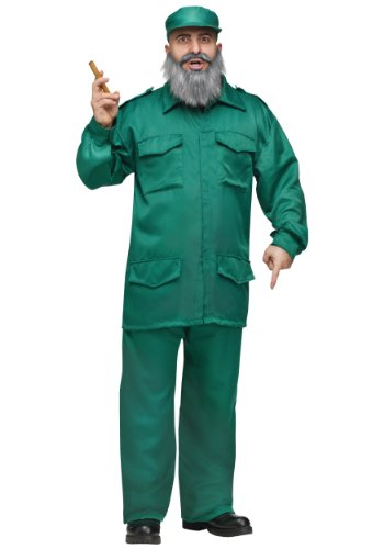 Fidel Costume - Standard - Chest Size 33-45