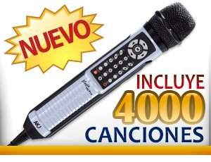 Lowest Prices! MAGIC MIC PRO MP3+G MICROPHONE WITH RECORDING FUNCTION + 4000 SONGS