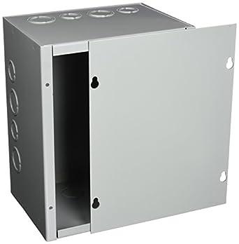 Hoffman ASE10 X 8 X 6 caja de paso, para tornillos con Knockouts, acero