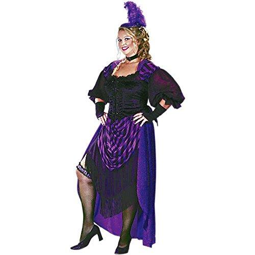 Lady Maverick Plus Costumes (Lady Maverick Costume - Plus Size 1X - Dress Size 16-20)