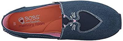 BOBS from Skechers Women's Plush-Catnip Cuddle Flat