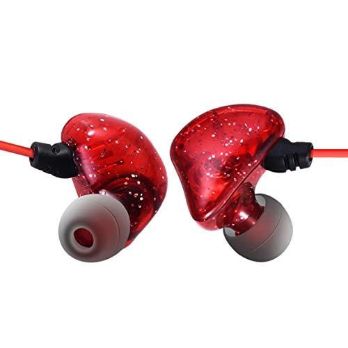 Smartlove1P 3 Meters Long line in-Ear Monitor Head Stereo high Fidelity Long line Anchor Live Broadcast Karaoke earplugs (Best Sound Karaoke On Demand)