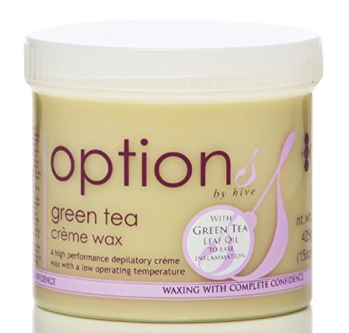 Hive enthaarende Grüntee Creme Wachs für Gesicht Körper Bein Bikini Wachs Haarentfernung 425g CODE: OPT5711