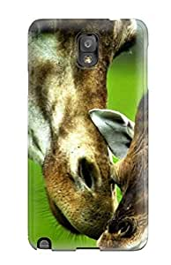 AtOahxv5052YJMJK Giraffe Cute Animals Fashion Tpu Note 3 Case Cover For Galaxy by icecream design