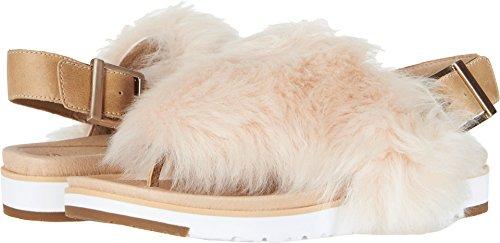 (UGG Women's Holly Flat Sandal, Soft Ochre, 11 M US)