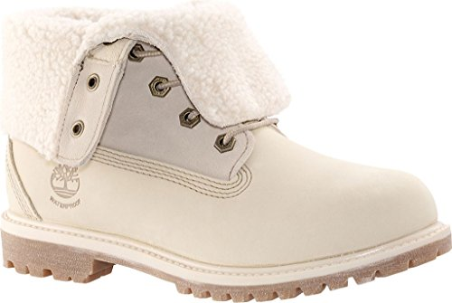 Beige Teddy Wp Fleece Nabuk Wheat Timberland Donna Stivali Auth f8qx1