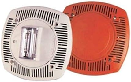 Gentex SSPK24WLPW 24VDC Low Profile Wall Mount Speaker Strobe – Off-White Faceplate