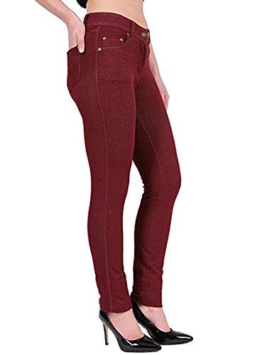 Jeggings Wine Missmister Jeans Jeggings Wine Jeans Donna Wine Donna Jeans Donna Jeggings Missmister Missmister qwaRTzpIa