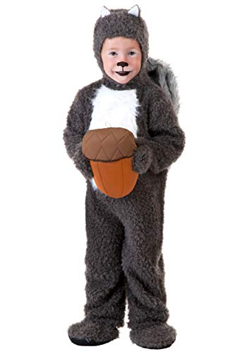 Toddler Squirrel Costume 2T -