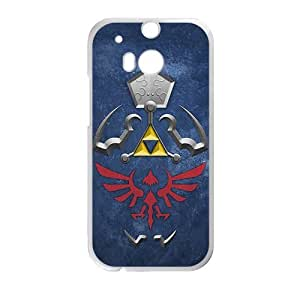 DAZHAHUI The Hylian Shield (The Legend of Zelda) Cell Phone Case for HTC One M8