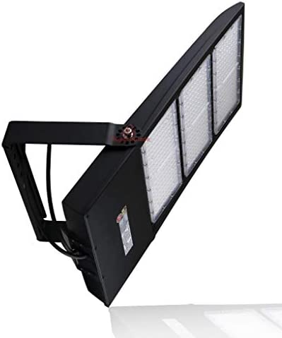 450 Watt NextGenII LED Flood Light 60,000 Lumen Super Efficiency 130 Lumen to Watt – 5000K Bright White – Replaces 750W-1000W 60,500 Lumen- 450 Watt LED Flood Light 5000K – with Photocell