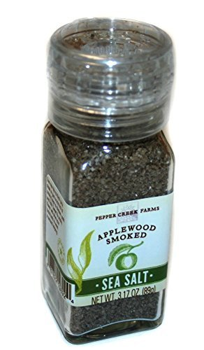UPC 087822198924, Pepper Creek Farms 601F-GR4 Applewood Smoked Salt With Grinder - Pack of 6