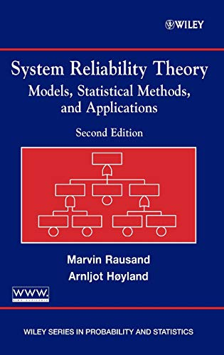 System Reliability Theory: Models, Statistical Methods,...