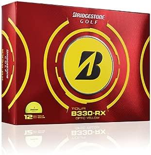 product image for Bridgestone Golf 2012 Tour B330 RX Yellow Golf Balls (1 Dozen)