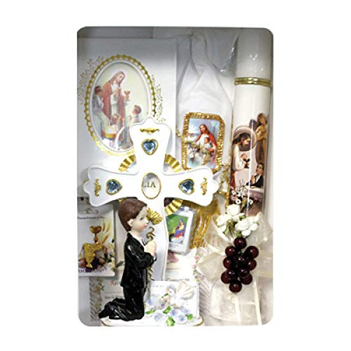 Catholic & Religious Gifts, First Communion Gift Set BOY Spanish by SF001