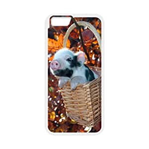 "C-QUE Cover Shell Phone Case Cute Pig For iPhone 6 Plus (5.5"")"