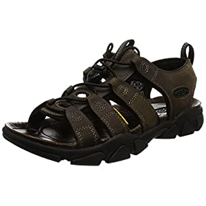 KEEN Men's Daytona Sandal,Black Olive,11 M US