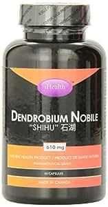 I-HEALTH Dendrobium Nobile 610mg, 60 Caps, 1 Count