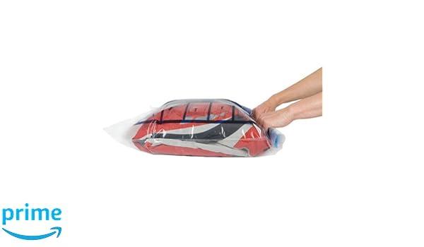 Travelon Travelon Set of 2 Compression Packing Bags Clear (2 Pack) Set 2 of Compression Packing Bags