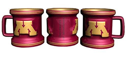 NCAA Minnesota Golden Gophers Sculpted Mini Mug, 2-ounce